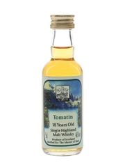 Tomatin 18 Year Old Bottled 1990s - Master Of Malt 5cl / 46%