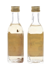 Jose Cuervo Especial Bottled 1980s-1990s 2 x 5cl / 38%