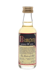 Blairfindy 1977 16 Year Old Cask 7020 Bottled 1993 - The Master Of Malt 5cl / 43%