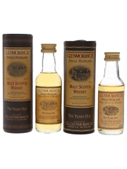 Glenmorangie 10 Year Old Bottled 2000s 2 x 5cl / 40%