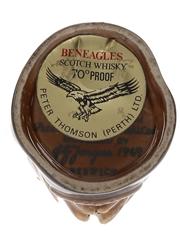 Beneagles Eagle Ceramic Decanter Bottled 1980s 5cl / 40%