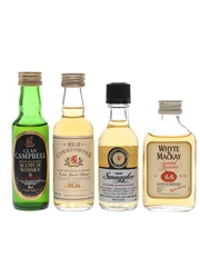 Clan Campbell, High Commissioner, Old Smuggler, Whyte & Mackay  4 x 4cl-5cl / 40%