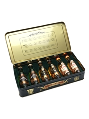 William Grant's Miniature Collection Bottled 1980s- Glenfiddich & Grant's 6 x 5cl / 40%