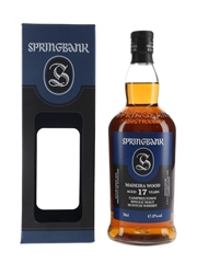 Springbank 2002 17 Year Old Madeira Wood Bottled 2020 70cl / 47.8%