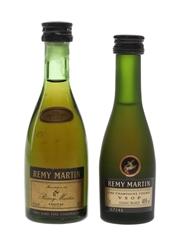 Remy Martin VSOP Bottled 1980s 2 x 3-5cl / 40%