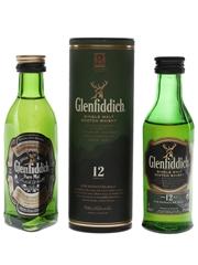 Glenfiddich Pure Malt & 12 Year Old