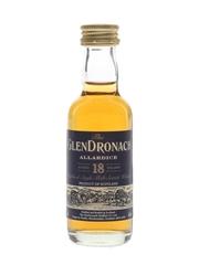 Glendronach 18 Year Old Allardice  5cl / 46%
