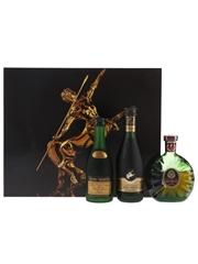 Remy Martin Cognac Set VSOP, Centaure Napoleon, Centaure XO 3 x 5cl / 40%