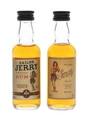 Sailor Jerry Spiced Rum  2 x 5cl / 40%