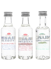 Finlandia Cranberry, Lime Fusion & Imported  3 x 5cl / 40%