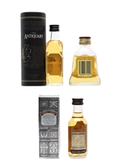Antiquary 12, Bell's 8 & Chivas Regal 12 Year Old  3 x 5cl