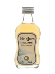Isle Of Jura 10 Year Old Bottled 1990s 5cl / 40%