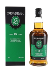 Springbank 15 Year Old Bottled 2020 70cl / 46%