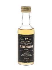 Ardbeg 17 Year Old Bottled 1980s - Cadenhead's 5cl / 46%