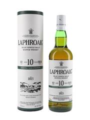 Laphroaig 10 Year Old Original Cask Strength Bottled 2020 - Batch 012 70cl / 60.1%