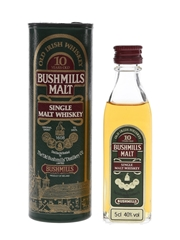 Bushmills 10 Year Old Bottled 1990s 5cl / 40%