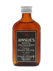 Ainslie's Royal Edinburgh Bottled 1960s-1970s 5cl / 40%