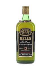 Bell's 12 Year Old De Luxe Bottled 1980s 75cl / 40%