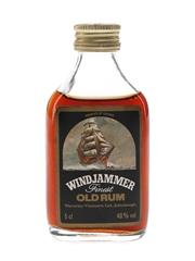Windjammer Finest Old Rum Bottled 1980s 5cl / 40%