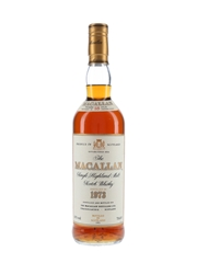 Macallan 1973 18 Year Old Bottled 1991 70cl / 43%