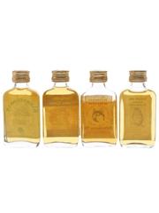 Assorted Blended Scotch Whisky Cairngorm, Barratt Dram, Spillers Bonio & Winking Owl 4 x 5cl / 40%