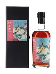 Karuizawa 2000 Flower & Bird Series Cask 7608 Bottled 2018 - Bush Warbler & Roses 70cl / 62%