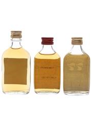 Carlton, Crawford's & Douglas Laing's 77 Bottled 1970s 3 x 4cl-5cl / 40%