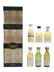 Classic Malts Set Cragganmore, Dalwhinnie, Glenkinchie, Lagavulin, Oban & Talisker 6 x 5cl