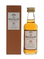 Macallan 10 Year Old Sherry Oak 5cl / 40%
