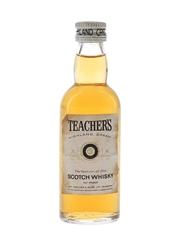 Teacher's Highland Cream Bottled 1960s-1970s 5cl / 40%
