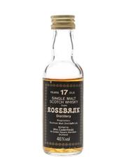 Rosebank 17 Year Old Bottled 1980s - Cadenhead's 5cl / 46%