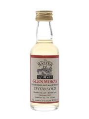 Glen Moray 1980 13 Year Old Bottled 1993 - The Master Of Malt 5cl / 43%