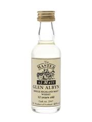 Glen Albyn 12 Year Old Cask No. 2947 The Master Of Malt 5cl / 43%