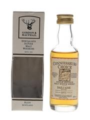 Dailuaine 1971 Connoisseurs Choice Bottled 1990s - Gordon & MacPhail 5cl / 40%