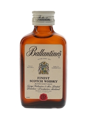 Ballantine's Finest with Fishing Lures Bottled 1970s 5cl / 40%
