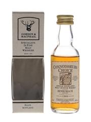 Benromach 1968 Connoisseurs Choice Bottled 1980s - Gordon & MacPhail 5cl / 40%