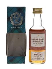 Balblair 1973 Centenary Reserve Bottled 1995 - Gordon & MacPhail 5cl / 40%