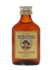 Wood's Old Charlie Finest Jamaica Rum Bottled 1960s 5cl / 40%