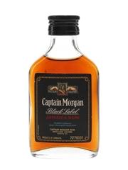 Captain Morgan Black Label Jamaica Rum Bottled 1970s 5cl / 40%