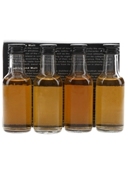 Oddbins Single Malt Tasting Pack Scottish Independent Distillers 4 x 5cl / 40%