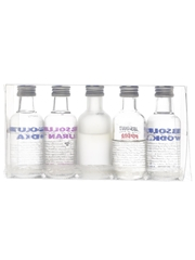 Absolut Five Absolut Vodka, Citron, Kurant, Peppar 5 x 5cl / 40%
