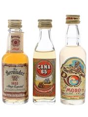 Bermudez, Cana 65 & Morey Ron Del Moro  3 x 5cl