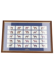 Martell Cognac Grand National Winners 1907-1932 Player's Cigarettes Cards 46cm x 30cm
