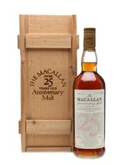 Macallan 1972 Anniversary Malt 25 Year Old 75cl / 43%