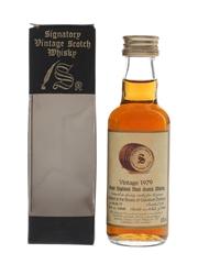 Braes Of Glenlivet 1979 15 Year Old Cask 16040 Bottled 1995 - Signatory Vintage 5cl / 60%