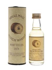 Port Ellen 1979 14 Year Old Bottled 1993 - Signatory Vintage 5cl / 43%