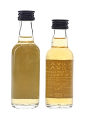 Royal Lochnagar 12 Year Old Bottled 1980s & 1990s 2 x 5cl / 40%