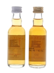 Aberlour 10 Year Old Bottled 1990s 2 x 5cl / 40%