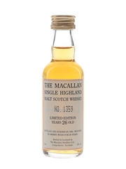 Macallan 1966 26 Year Old Limited Edition  5cl / 43%