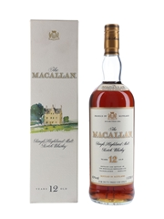 Macallan 12 Year Old Bottled 1980s - Duty Free 100cl / 43%